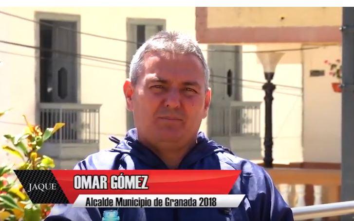 JAQUE 20, invitado alcalde de Granada Omar Gómez Aristizábal