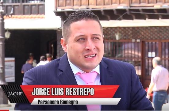 JAQUE 17, invitado nuevo personero de Rionegro, Jorge Luis Restrepo Gómez