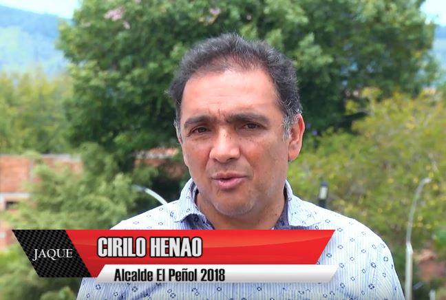 JAQUE 23, invitado alcalde de El Peñol José Cirilo Henao Jaramillo