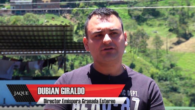 JAQUE 24, invitado director Emisora Granada, Dubian Giraldo