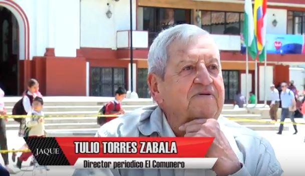 JAQUE 26, invitado Tulio Anibal Torres Zabala, director periódico El Comunero