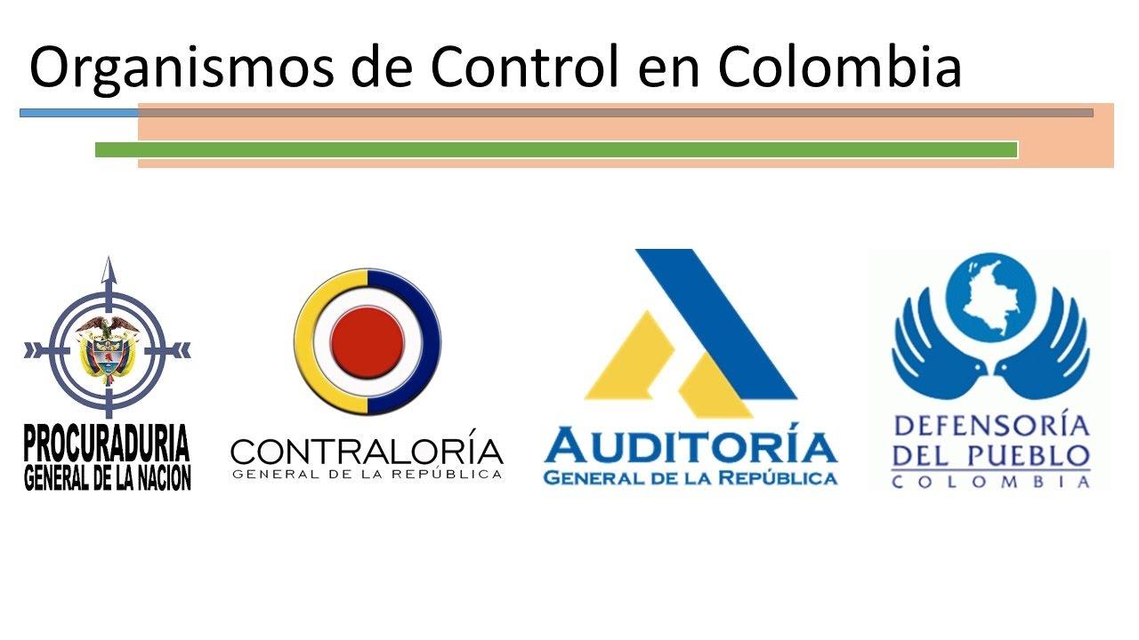 Órganos de Control en Colombia